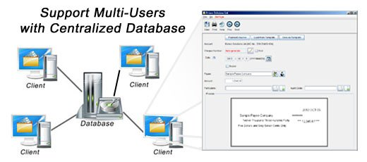 Support multi users with centralized database