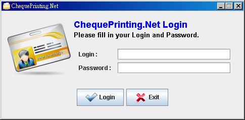 ChequePrinting.Net Screenshot