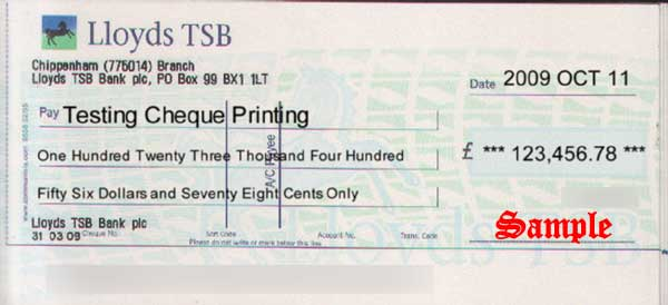 ChequePrinting.Net Enterprise Cheque Printing Software: ScreenShots